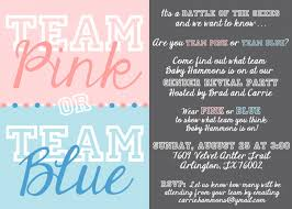 gender reveal party invitation template for you thewhipper com