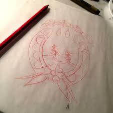 how to paint traditional tattoo flash u2014 enlighten creative studio