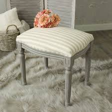 Dressing Table Shabby Chic by French Grey Dressing Table Stool Distressed Shabby Chic Fabric Top