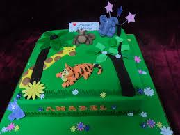 friendly animal themed birhday cake www frescofoods co nz email