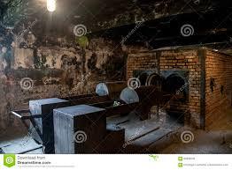 chambre gaz c auschwitz birkenau kz pologne de concentration en chambre à gaz