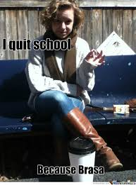 Quitting Meme - i quit school by gzus meme center