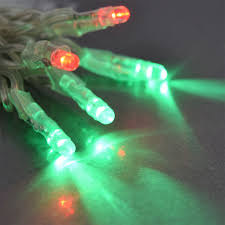tiny led battery operated stringlight strand 10 green bulbs