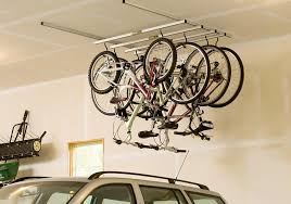 How To Build Garage Storage Lift by Bicycle Storage Solutions Momentum Mag