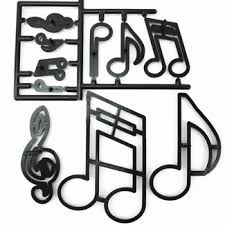 Musical Note Decorations Festivals And Music Cake Toppers Cake Decorations