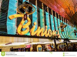 Fremont Street Las Vegas Map by Binions Casino Sign Las Vegas Editorial Photography Image 60488957