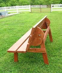 Convertible Picnic Table Bench Folding Picnic Table Bench Plans U2013 Amarillobrewing Co