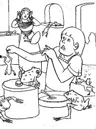 9 pics of frog plague of egypt coloring page frog plague