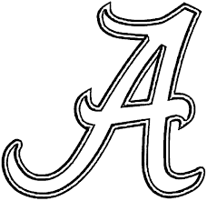 alabama football coloring pages superb alabama football coloring