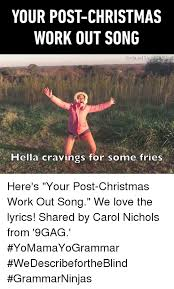 Carol Blind 25 Best Memes About Workout Songs Workout Songs Memes