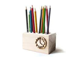 Pencil Holders For Desks Snake Shape Wood Pen And Pencil Holder Year 7 8 Pinterest