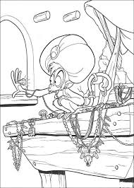 alladin coloring pages 38 best libro colorear aladdin images on pinterest disney