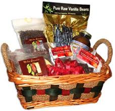 Healthy Food Gift Baskets Gift Baskets Divine Organics