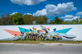 community creatives unveil grove street art the village journal sponsored on a global scale sea walls murals for oceans is a ground breaking public art project created by pangeaseed foundation and supporting artists to