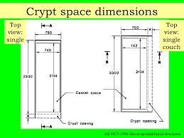 casket dimensions monument design