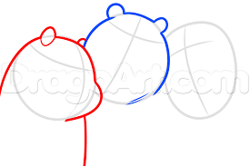 how to draw we bare bears step by step cartoon network