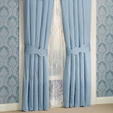 evermore blue window treatments