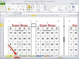how to print my bingo cards bingo card generator