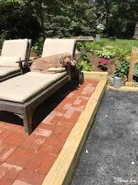 diy flagstone patio lehman lane
