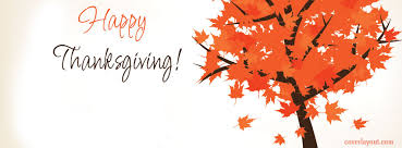 happy thanksgiving fall tree leafs cover coverlayout