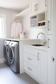 Kitchen Tile Ideas With White Cabinets 25 Best White Laundry Rooms Ideas On Pinterest Utility Room