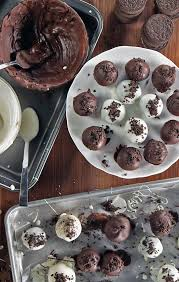 no bake oreo truffle recipe food video popsugar food