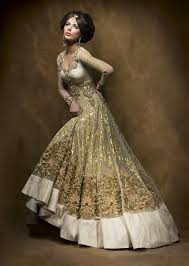 Indian Wedding Dresses Soma Sengupta Indian Bridal White U0026 Gold Indian Weddings