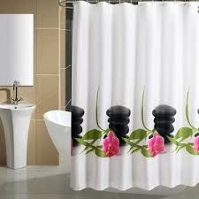 How Long Are Shower Curtains Cool Decorative Black And White Funny Shower Curtains