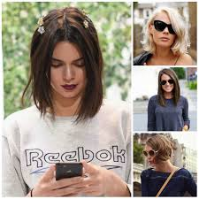 bob hairstyle ideas from street style 2017 haircuts hairstyles