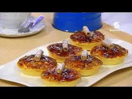 samira cuisine alg駻ienne gâteau tart aox amandes et de caramel recette facile la cuisine