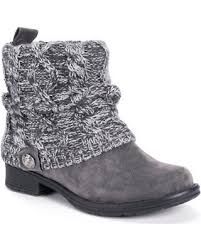 womens ankle boots in size 12 snag this sale 14 muk luks patrice s water