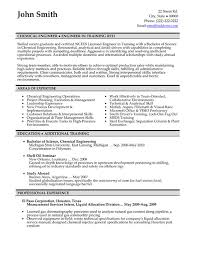 Engineering Resume Templates Catchy Chemical And Areas Of Experience Civil Engineer Resume
