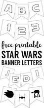 star wars printable bingo game star wars party