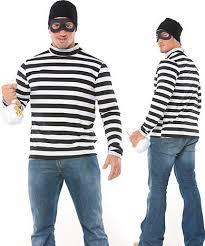 Halloween Burglar Costume Men U0027s Robber Costume Burglar Costume 3wishes