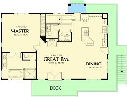 garage floor plan one bedroom suite four car garage 69394am architectural
