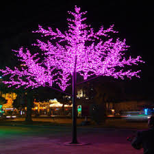 projection lights artificial outdoor decoration simulation led tree projection light