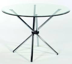 glass top for table round crystal furniture modern round glass top table rs 2000 piece id