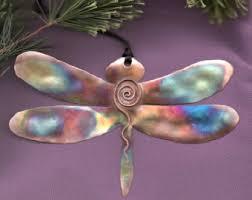 dragonfly ornaments etsy