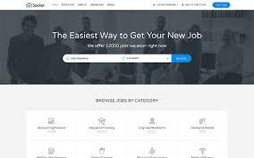seeker job board html template other bootstrap templates