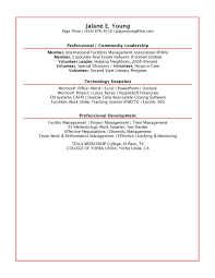 Program Manager Resumes Sample Volunteer Resume Resume For Your Job Application