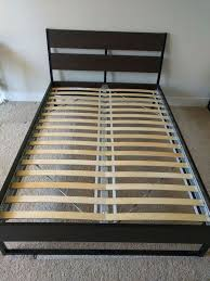 metal bed frame as good and wooden bed frames full size bed frame