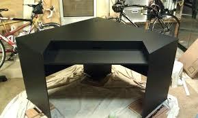 gaming computer desk for sale building custom gaming desk an overclocking building a gaming desk