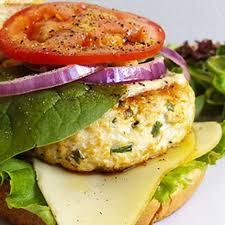 cuisiner reste poulet burger de poulet haché au fromage recette au fromage
