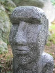 easter island statue garden statue moai easter island figure moai