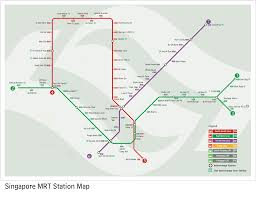 Singapore Mrt Map Mrt Stations Had Changed A Lot Less Trouble Meetgab
