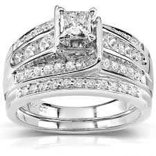 overstock wedding ring sets 27 best wedding rings images on rings jewelry and