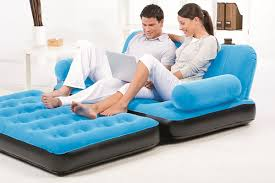 bestway inflatable fold out couch pros cons