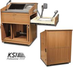 Lectern Desk Ksipro Esl Lecterns Credenzas Desks Racks Carts