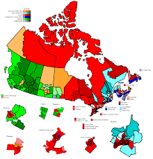 London Canada Map by Canadian Election Atlas Federal Elections
