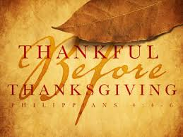 philippians 4 2 9 the thanksgiving spirit thankful before